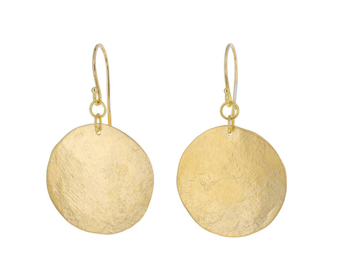 Large Aurelia Disc Earrings
