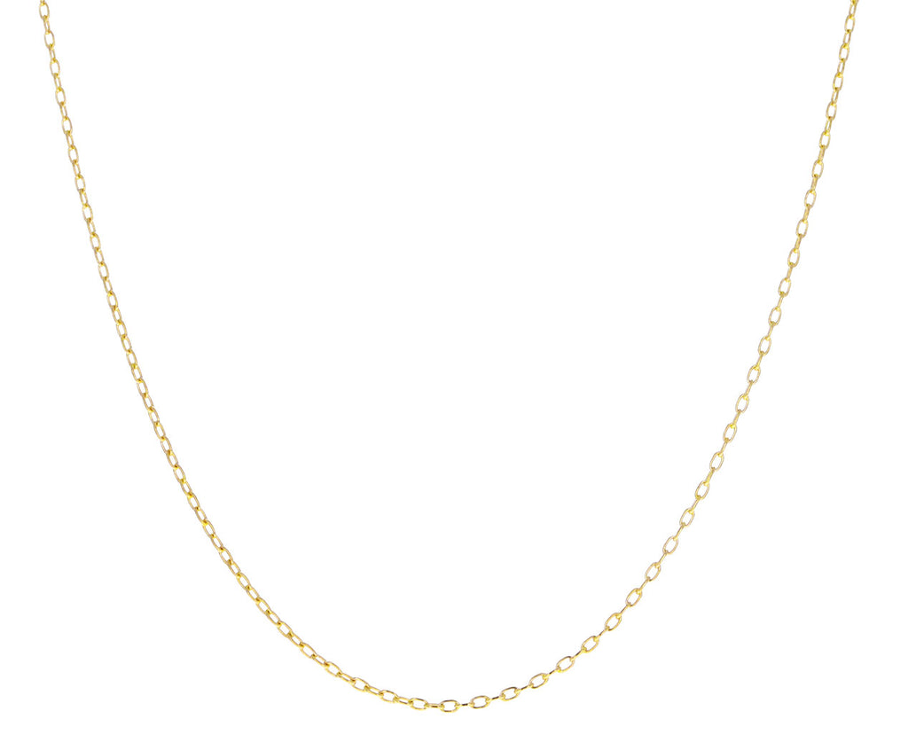 Elongated Cable Chain Necklace