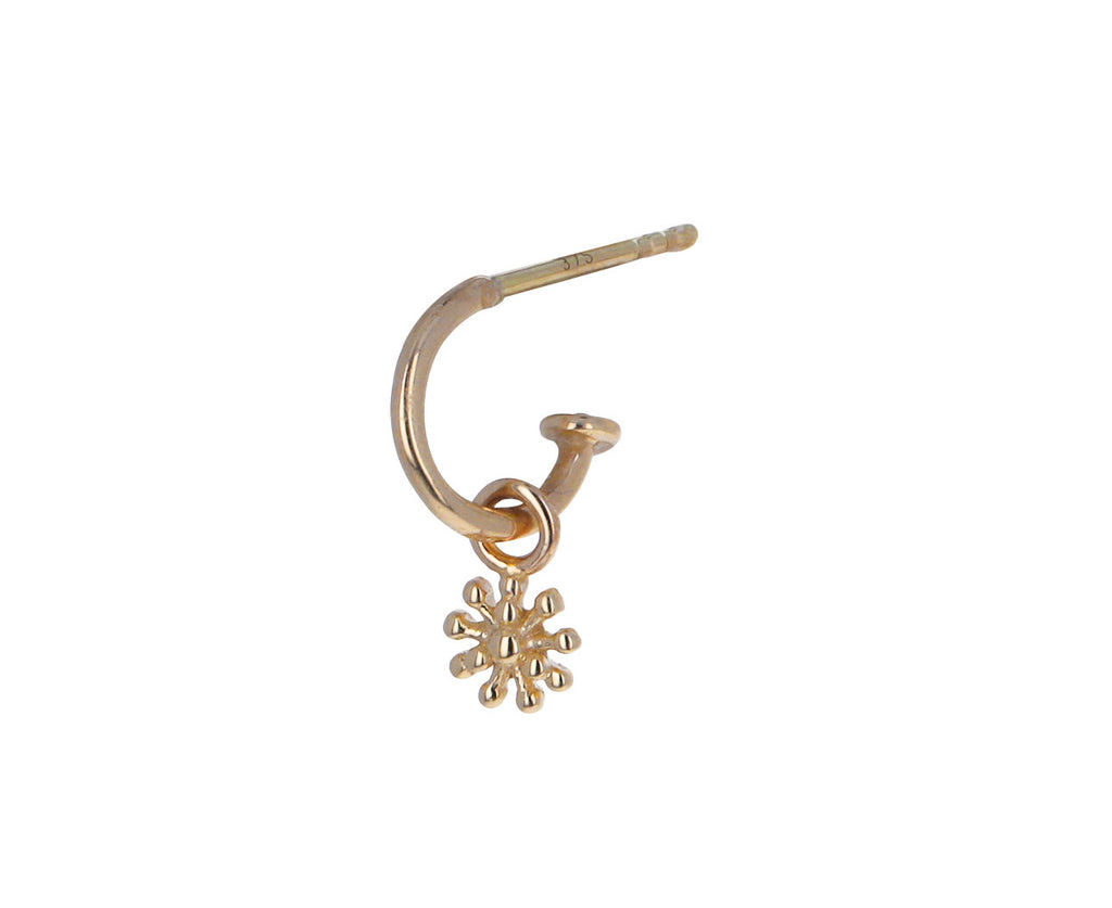 Gold Dala One SINGLE Earring Charm