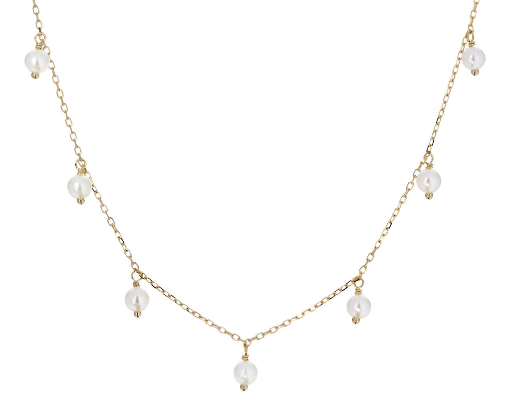 Akoya Pearl Fringe Necklace - TWISTonline