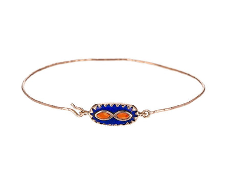 Lapis and Coral Bowie Bracelet - TWISTonline