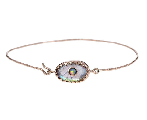 Moonstone and Opal Orso N°1 Bracelet - TWISTonline