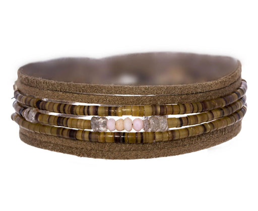 Shell and Opal Rosemary N°7 Wrap Bracelet - TWISTonline