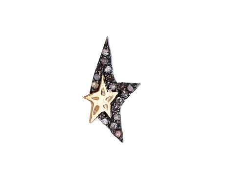Diamond Star Varda SINGLE Earring