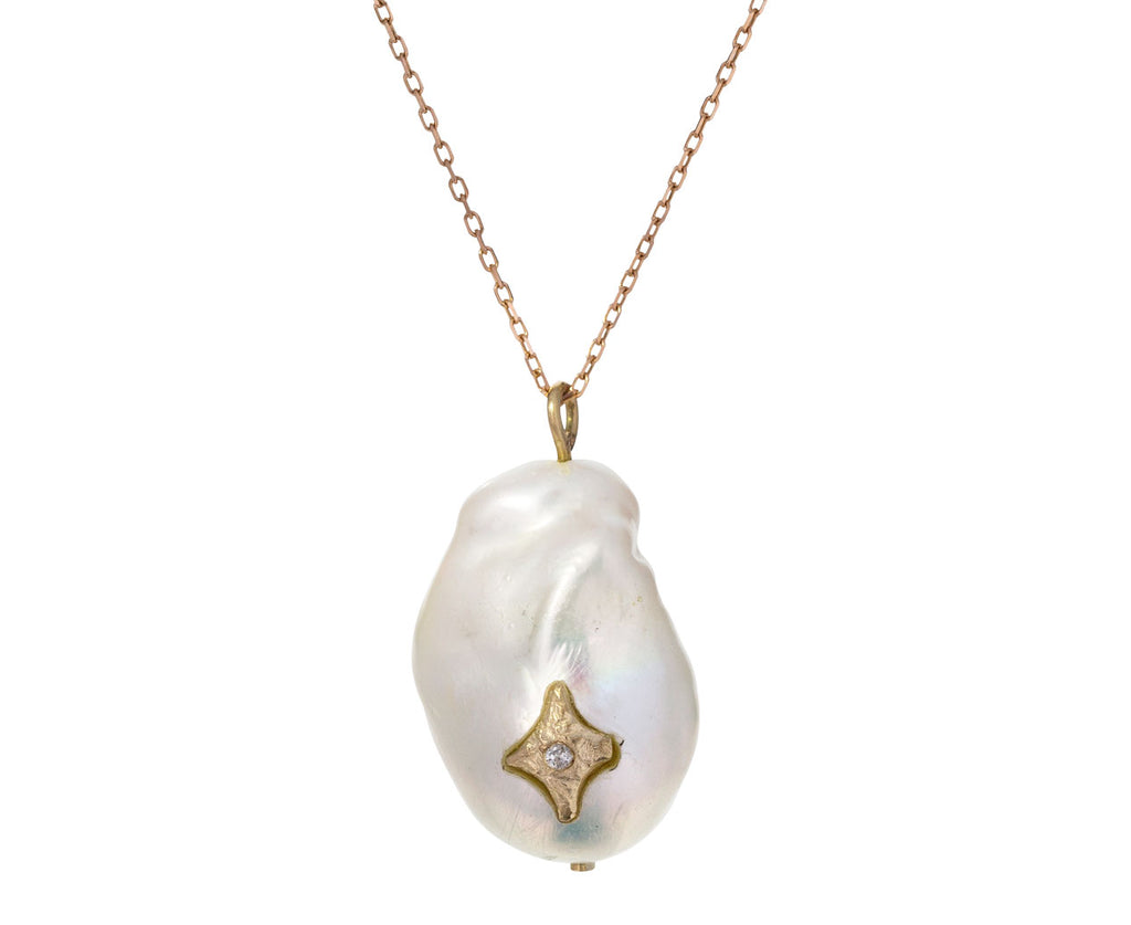 Pearl and Diamond Charlie N°1 Necklace - TWISTonline