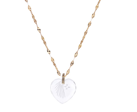 Crystal Heart Gabin N°3 Necklace