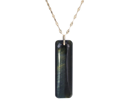 Tiger's Eye Marcel Necklace - TWISTonline