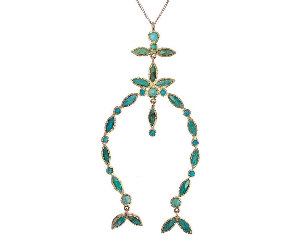 Nour Turquoise Necklace zoom 1_pascale_monvoisin_gold_nour_turquoise_necklace1