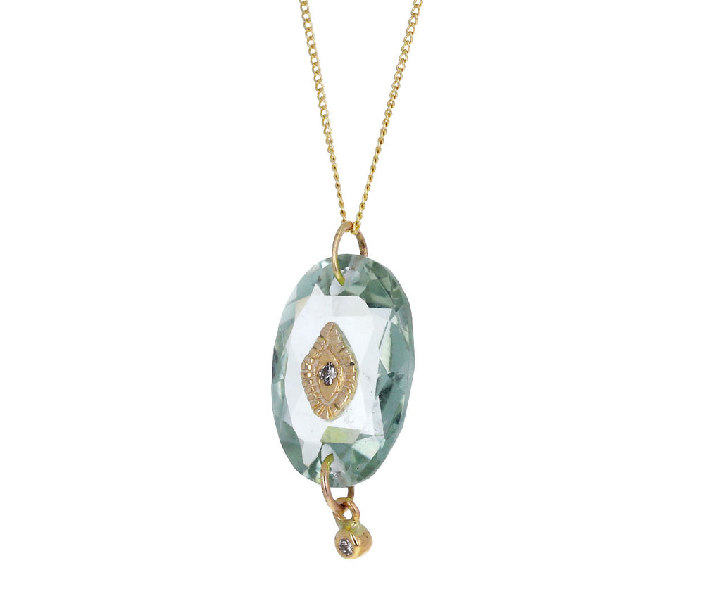 Green Amethyst Souad Necklace