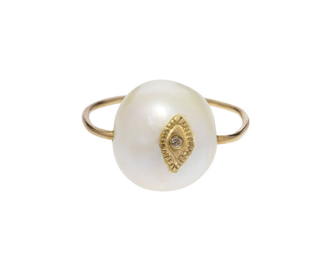 River Pearl Charlie Ring - TWISTonline