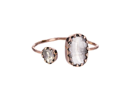 Lara N°2 Polki Diamond Cuff Ring - TWISTonline