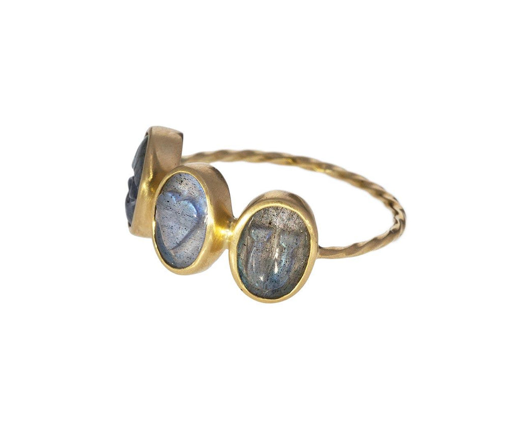 Labradorite I LOVE YOU Ring - TWISTonline