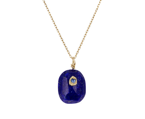 Lapis and Blue Sapphire Necklace