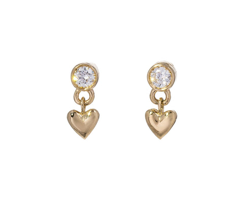 Baby Heart Earrings - TWISTonline