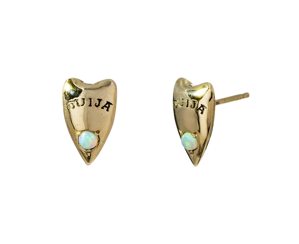 Ouija Planchette Earrings - TWISTonline