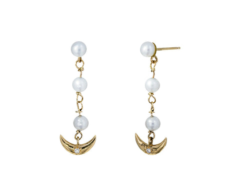 Serena Pearl Earrings - TWISTonline