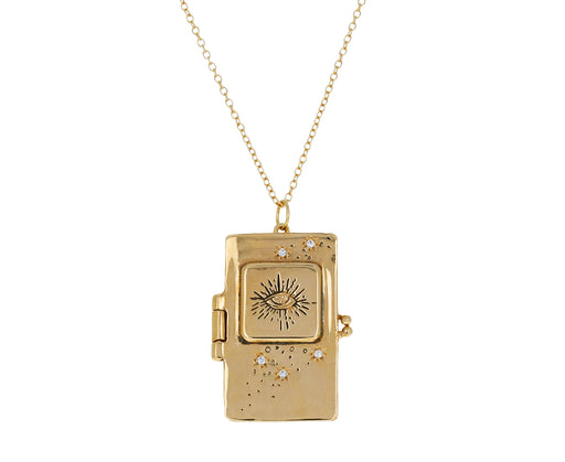 Illuminated Book Locket Necklace - TWISTonline
