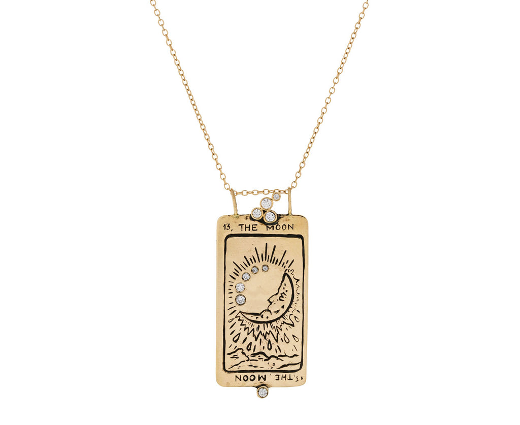 Supreme Moon Tarot Card Pendant Necklace - TWISTonline