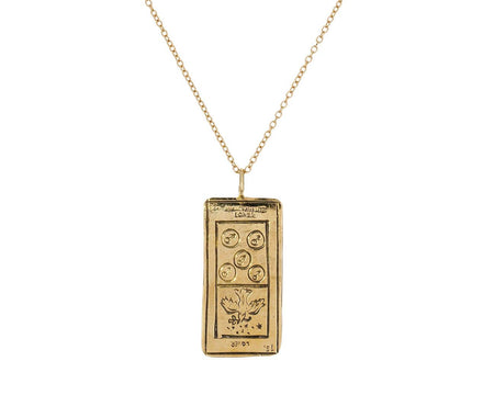 Lover Tarot Card Pendant Necklace - TWISTonline