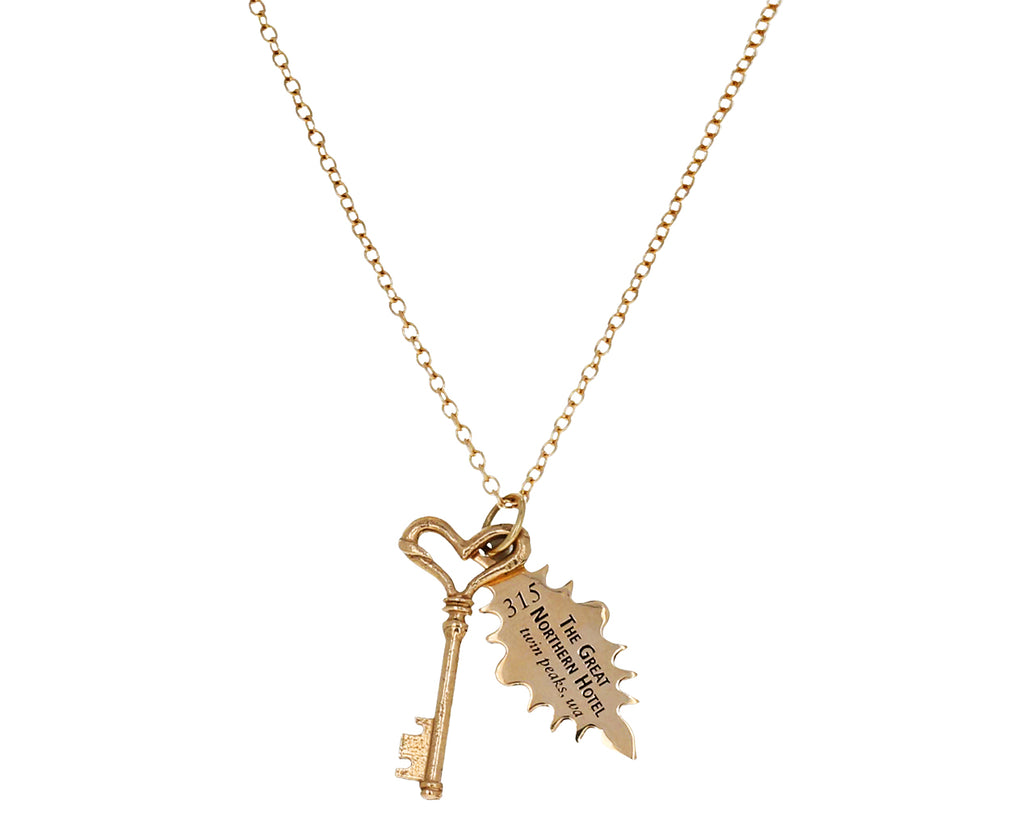Twin Peaks Key Set Necklace - TWISTonline