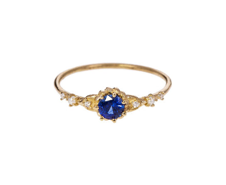 Clara's Dream Ring with Sapphire, Pearls and Diamonds - TWISTonline