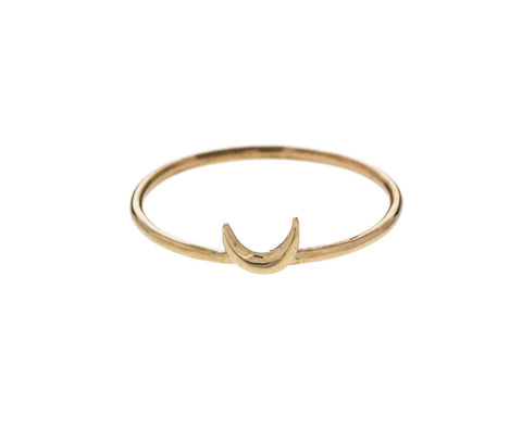 Crescent Moon Ring - TWISTonline