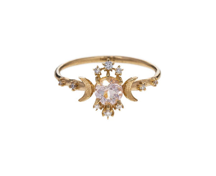 Morganite Wandering Ring - TWISTonline