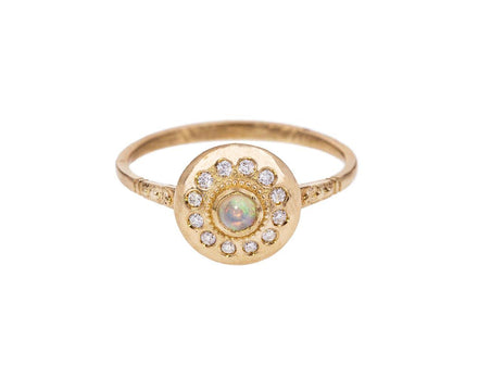 Diamond Opal Royal Dynasty Luhari UFO Ring - TWISTonline