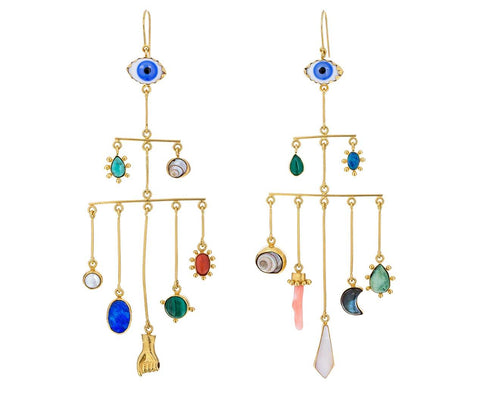 Large Eye Peeper Drop Dangle Earrings - TWISTonline