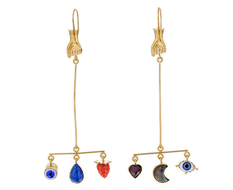 Hand Balance Drop Earrings - TWISTonline