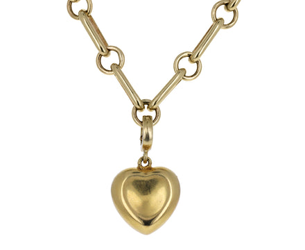 Christina Alexiou Small Puffy Heart Charm ONLY