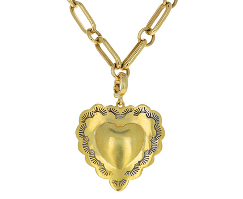 Christina Alexiou Engraved Heart Charm ONLY