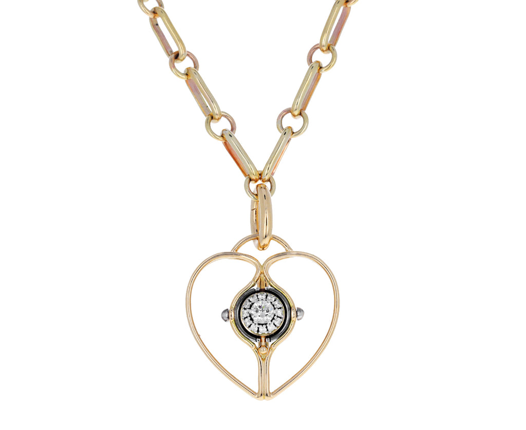 Elie Top Diamond Mira Heart Charm ONLY