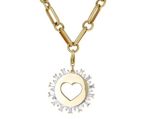 Nancy Newberg Diamond Heart Charm ONLY