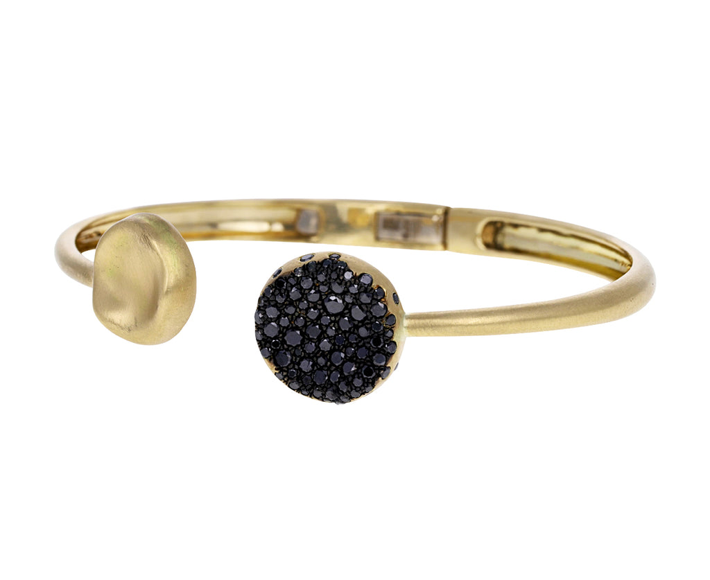 Black Diamond Duo Baby Malak Cuff Bracelet
