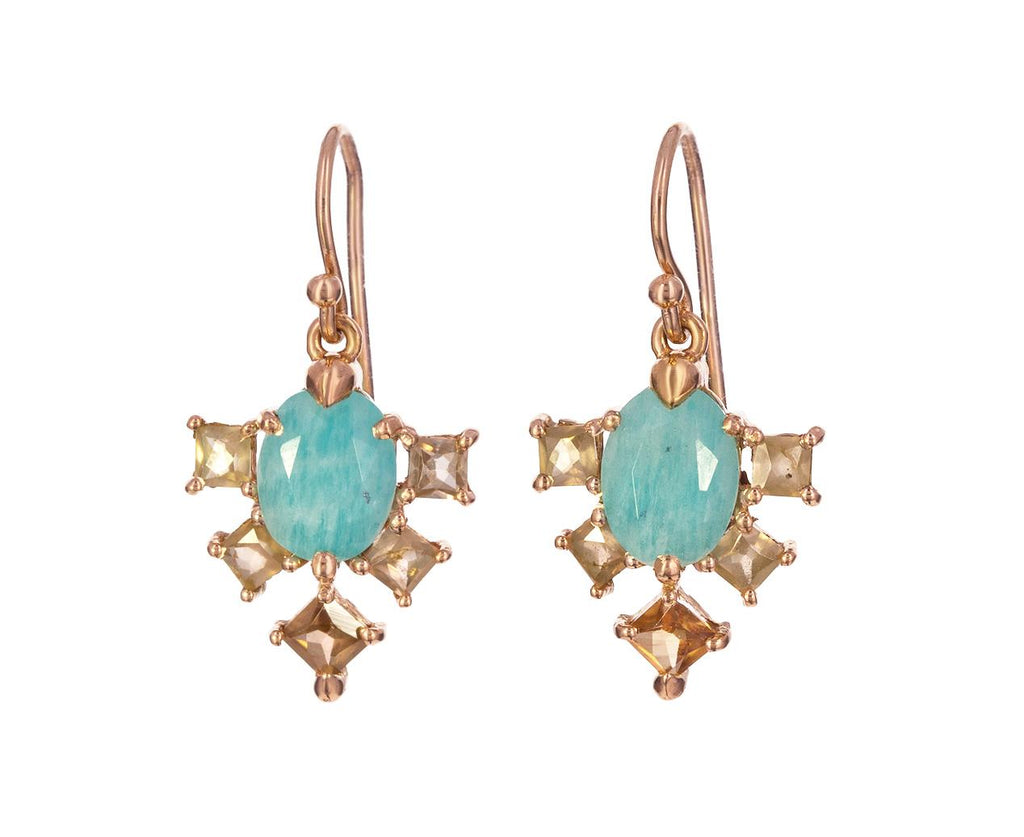 Amazonite Arrow Earrings - TWISTonline