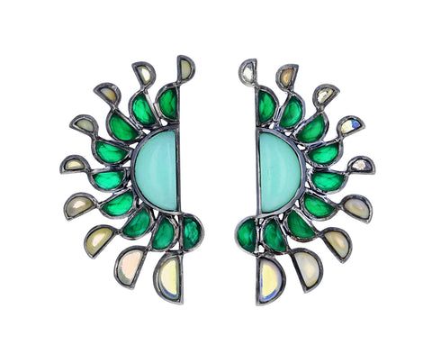 Mezzaluna Earrings - TWISTonline