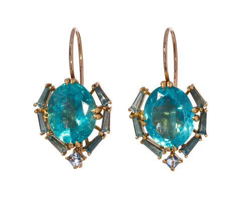 Apatite Satchel Earrings - TWISTonline