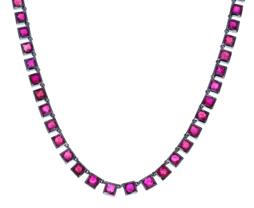 Ruby Riviere Tile Necklace - TWISTonline