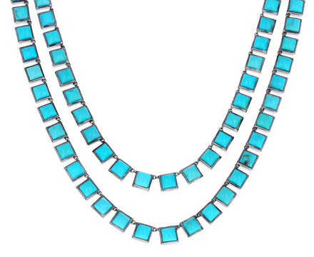 Turquoise Opera Tile Necklace - TWISTonline