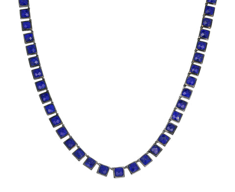 Lapis Mosaic Necklace
