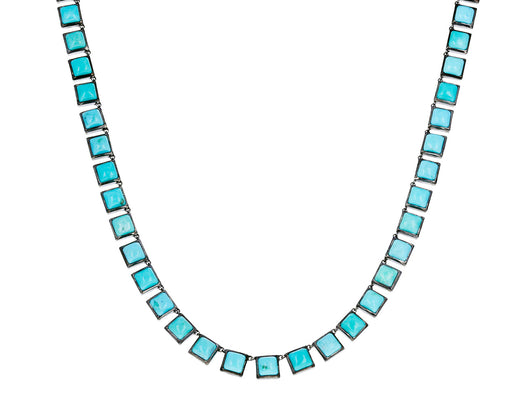 Turquoise Mosaic Necklace - TWISTonline