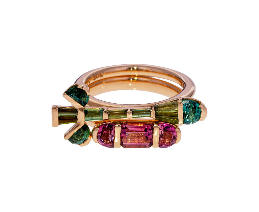 Green Tourmaline Crocus Ring - TWISTonline