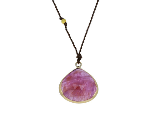 Ruby Pendant Necklace - TWISTonline