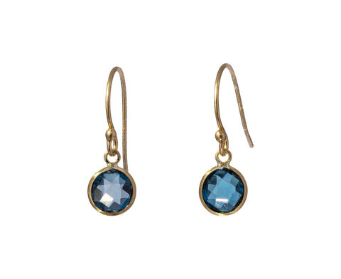 London Blue Topaz Earrings - TWISTonline