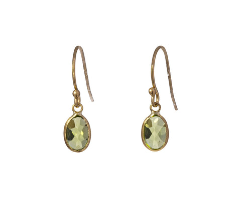 Tiny Peridot Earrings - TWISTonline