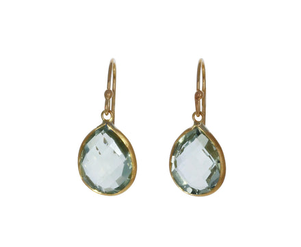 Prasiolite Drop Earrings - TWISTonline