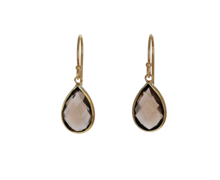 Smoky Quartz Dangle Earrings - TWISTonline