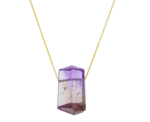 Ametrine Pendant Necklace