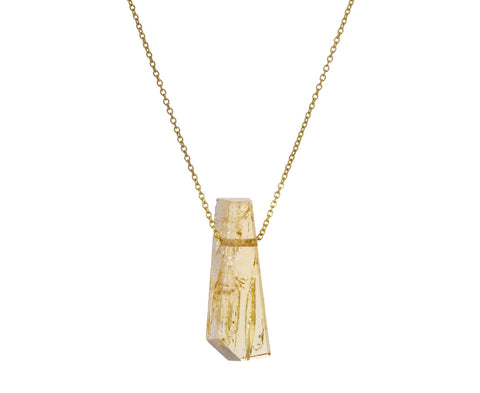 Imperial Topaz Pendant Necklace - TWISTonline